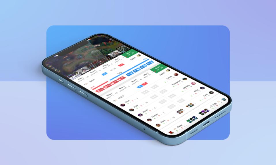 widgets-esports-data